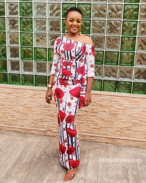 long gown ankara styles pictures long gown ankara styles pictures - long gown ankara styles pictures 30 - Stunning! See The 35 Latest Long Gown Ankara Styles Pictures We Are Currently Vibing With