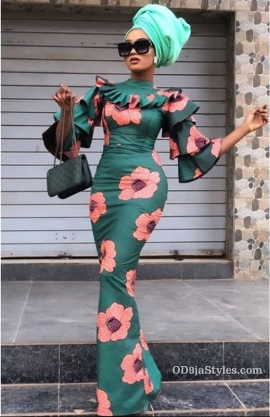long gown ankara styles pictures long gown ankara styles pictures - long gown ankara styles pictures 31 - Stunning! See The 35 Latest Long Gown Ankara Styles Pictures We Are Currently Vibing With