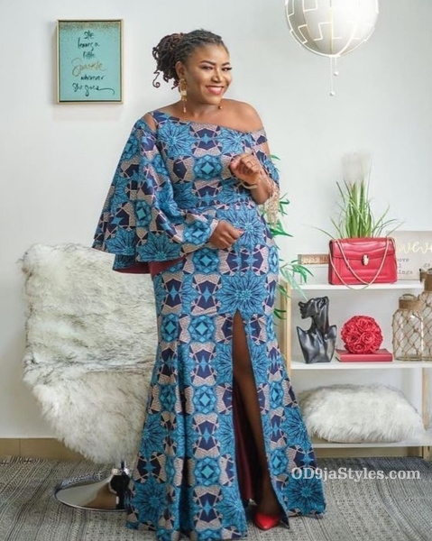 long gown ankara styles pictures long gown ankara styles pictures - long gown ankara styles pictures 32 - Stunning! See The 35 Latest Long Gown Ankara Styles Pictures We Are Currently Vibing With
