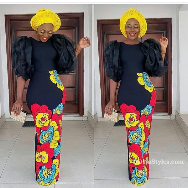 long gown ankara styles pictures long gown ankara styles pictures - long gown ankara styles pictures 33 - Stunning! See The 35 Latest Long Gown Ankara Styles Pictures We Are Currently Vibing With