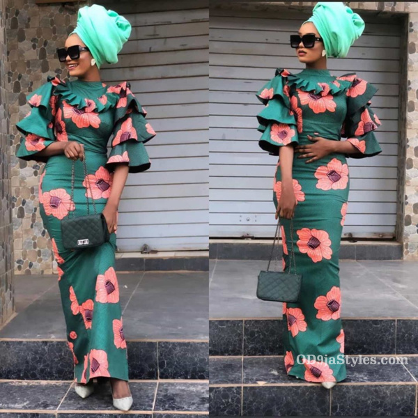 long gown ankara styles pictures long gown ankara styles pictures - long gown ankara styles pictures 5 - Stunning! See The 35 Latest Long Gown Ankara Styles Pictures We Are Currently Vibing With