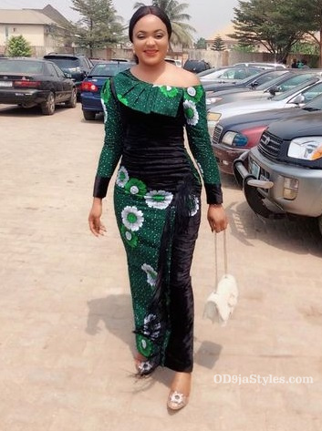long gown ankara styles pictures long gown ankara styles pictures - long gown ankara styles pictures 7 - Stunning! See The 35 Latest Long Gown Ankara Styles Pictures We Are Currently Vibing With