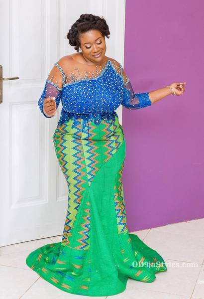 long gown ankara styles pictures long gown ankara styles pictures - long gown ankara styles pictures 9 - Stunning! See The 35 Latest Long Gown Ankara Styles Pictures We Are Currently Vibing With