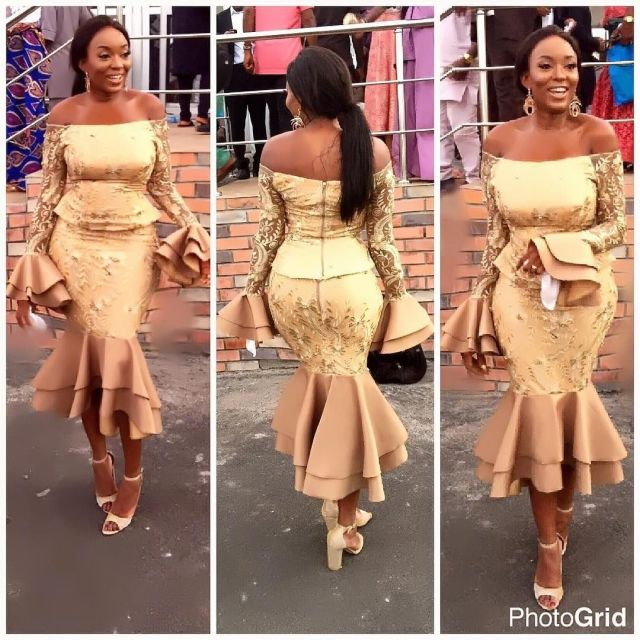 Gold Lace AsoEbi Dresses gold lace asoebi styles - 65fd90ff3789a93173831a455652b205 640x640 - These 25 Gold Lace AsoEbi Dresses Are Nothing But Stunning and Gorgeous