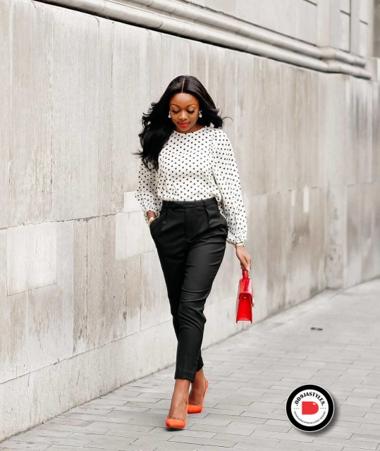 Classy and Casual Work Outfits For Hitting the Office in Style work outfits - Classy and Casual Work Outfits For Hitting the Office in Style 14 539x640 - 45 Classy and Casual Work Outfits For Hitting the Office in Style