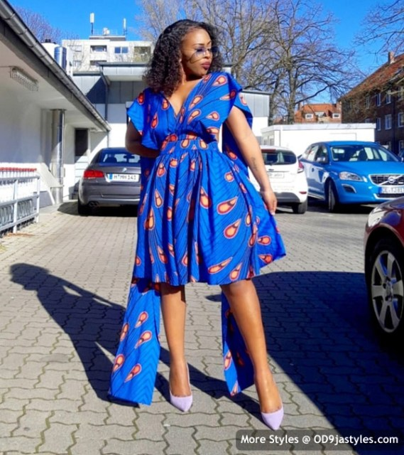 Well Made Ankara Dresses well made ankara dresses - Well Made Ankara Dresses 1 569x640 - 45 IMAGES: Well Made Ankara Dresses That Will Inspire You – African Fashion Outfits