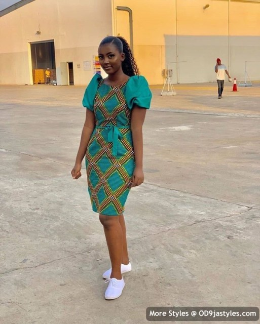Well Made Ankara Dresses well made ankara dresses - Well Made Ankara Dresses 11 513x640 - 45 IMAGES: Well Made Ankara Dresses That Will Inspire You – African Fashion Outfits
