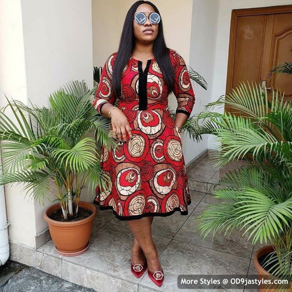 Well Made Ankara Dresses well made ankara dresses - Well Made Ankara Dresses 12 - 45 IMAGES: Well Made Ankara Dresses That Will Inspire You – African Fashion Outfits