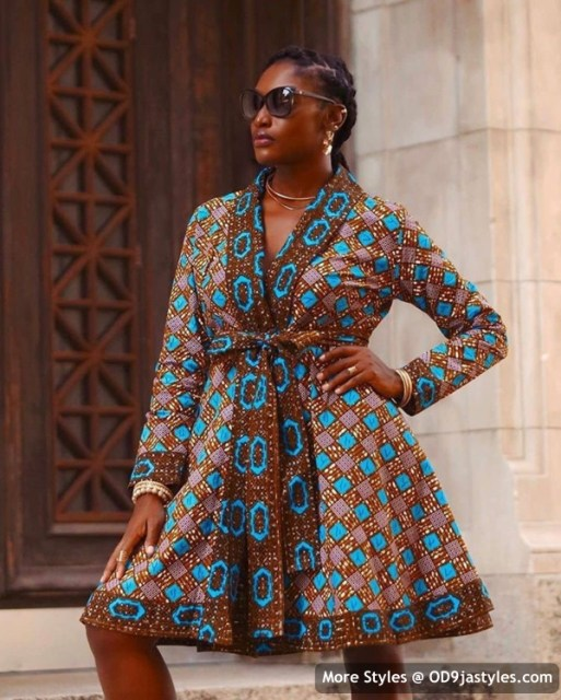 Well Made Ankara Dresses well made ankara dresses - Well Made Ankara Dresses 13 513x640 - 45 IMAGES: Well Made Ankara Dresses That Will Inspire You – African Fashion Outfits
