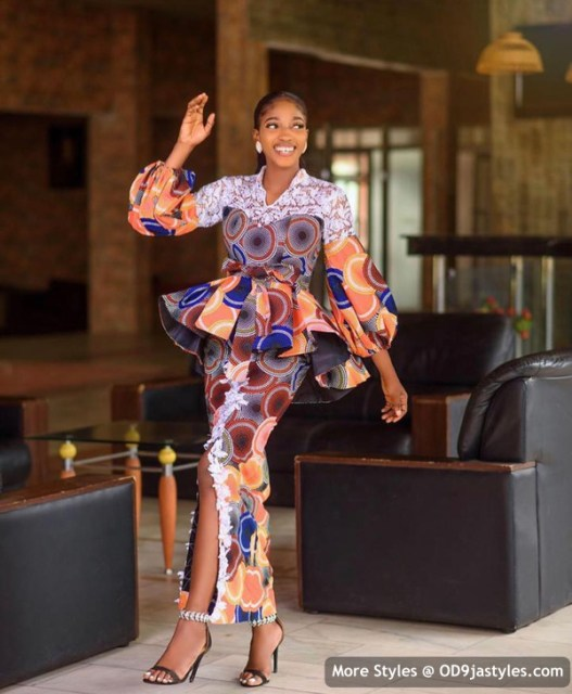 Well Made Ankara Dresses well made ankara dresses - Well Made Ankara Dresses 22 527x640 - 45 IMAGES: Well Made Ankara Dresses That Will Inspire You – African Fashion Outfits