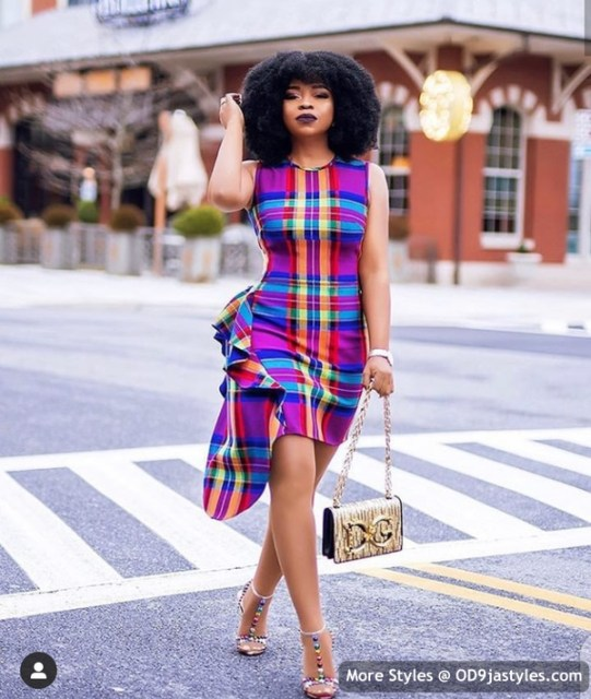 Well Made Ankara Dresses well made ankara dresses - Well Made Ankara Dresses 27 541x640 - 45 IMAGES: Well Made Ankara Dresses That Will Inspire You – African Fashion Outfits