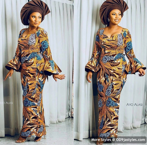 Well Made Ankara Dresses well made ankara dresses - Well Made Ankara Dresses 28 - 45 IMAGES: Well Made Ankara Dresses That Will Inspire You – African Fashion Outfits