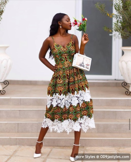 Well Made Ankara Dresses well made ankara dresses - Well Made Ankara Dresses 29 516x640 - 45 IMAGES: Well Made Ankara Dresses That Will Inspire You – African Fashion Outfits