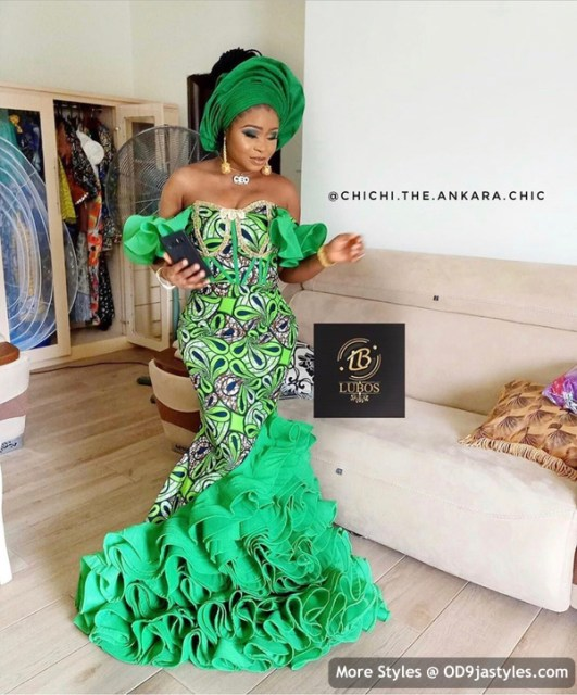 Well Made Ankara Dresses well made ankara dresses - Well Made Ankara Dresses 31 531x640 - 45 IMAGES: Well Made Ankara Dresses That Will Inspire You – African Fashion Outfits