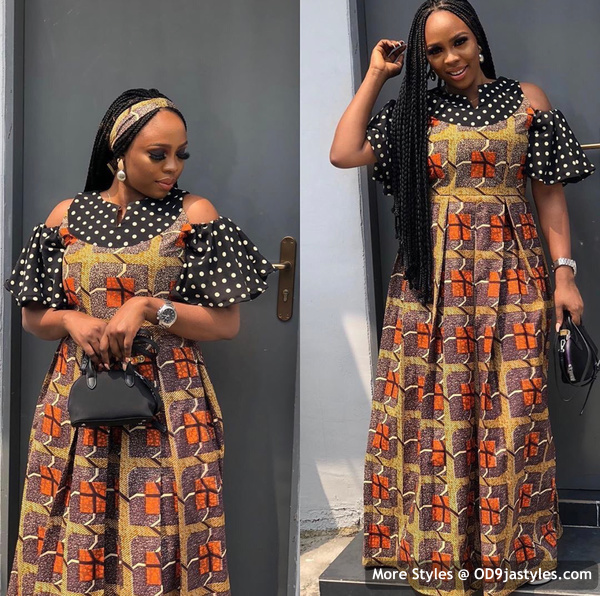 Well Made Ankara Dresses well made ankara dresses - Well Made Ankara Dresses 33 - 45 IMAGES: Well Made Ankara Dresses That Will Inspire You – African Fashion Outfits