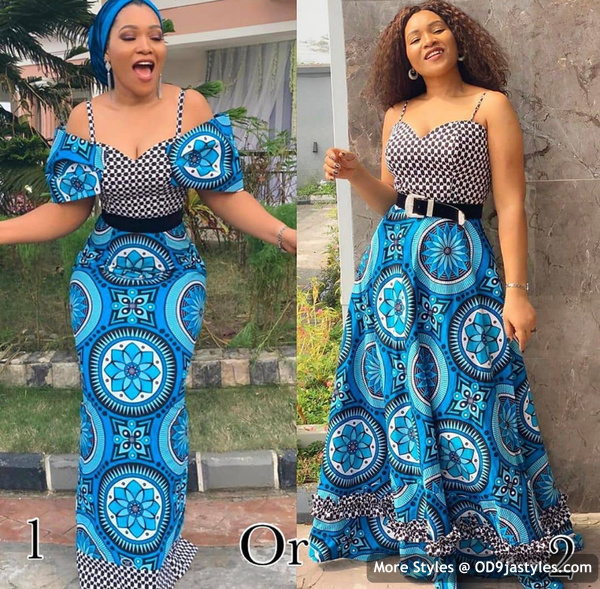 Well Made Ankara Dresses well made ankara dresses - Well Made Ankara Dresses 42 - 45 IMAGES: Well Made Ankara Dresses That Will Inspire You – African Fashion Outfits