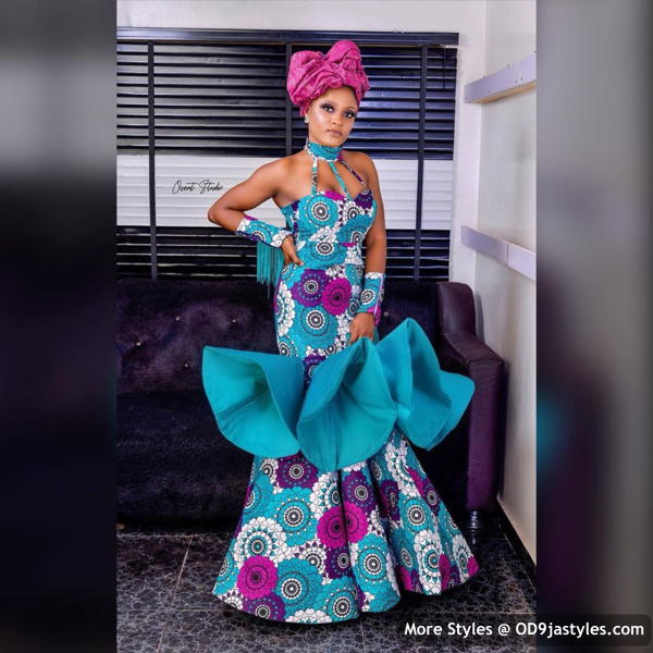 Well Made Ankara Dresses well made ankara dresses - Well Made Ankara Dresses 44 - 45 IMAGES: Well Made Ankara Dresses That Will Inspire You – African Fashion Outfits