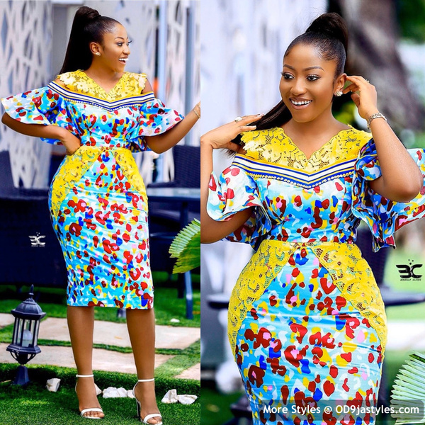 Well Made Ankara Dresses well made ankara dresses - Well Made Ankara Dresses 8 - 45 IMAGES: Well Made Ankara Dresses That Will Inspire You – African Fashion Outfits