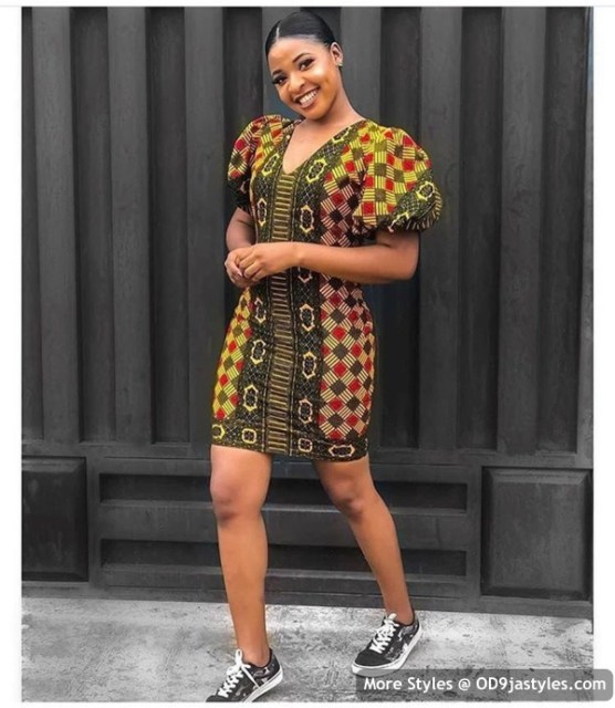 Well Made Ankara Dresses well made ankara dresses - Well Made Ankara Dresses 9 556x640 - 45 IMAGES: Well Made Ankara Dresses That Will Inspire You – African Fashion Outfits