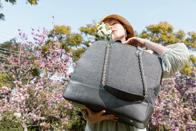 STYLECASTER | BEIS Woven Collection Everyday Tote