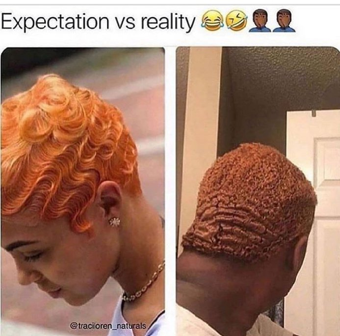 What i ordered vs what i got hairstyle