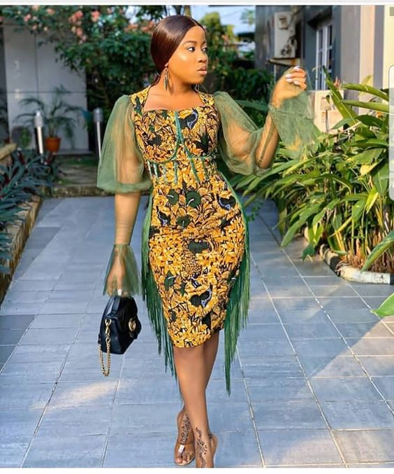 """ANKARA STYLES FOR WOMEN on Instagram: """"Would you rock this? 😍😍😍 DM for 50% ad promo . . . . #partyguest #partyjollof #ankarastyles #ankaralovers #ankarafashion #ankaraprint…"""""""