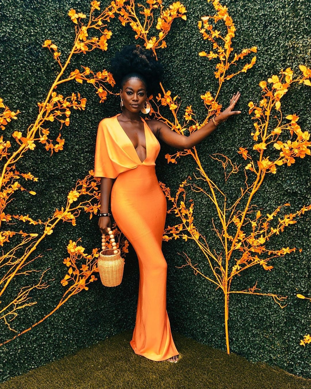 How to style Orange