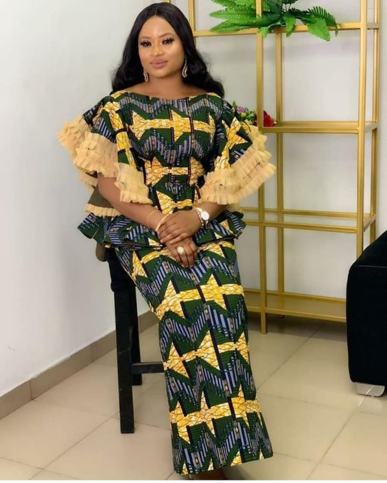 2020 Latest Ankara Skirt and Blouse Styles;101 Stunningly And Classy Styles for Beautiful Ladies to try out