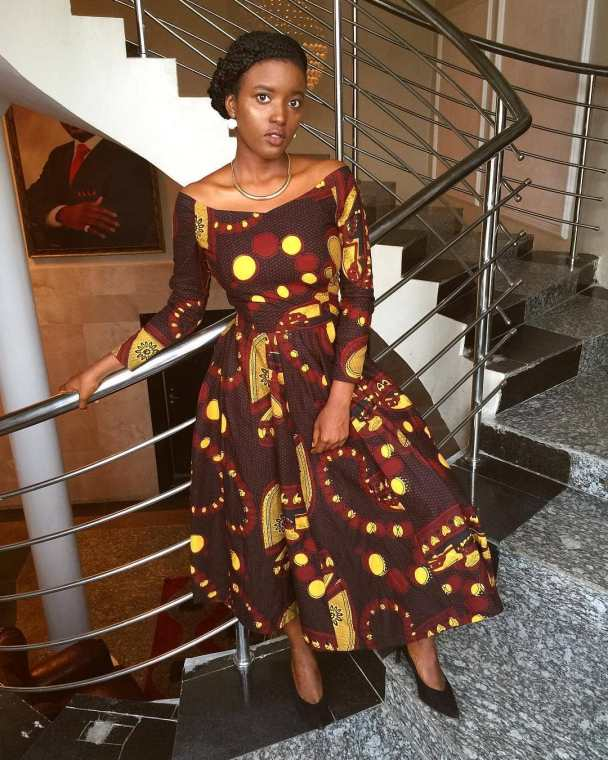 Short Gown Ankara Styles for Teenagers 25 Pictures – Short Gown Ankara Styles for Teenagers