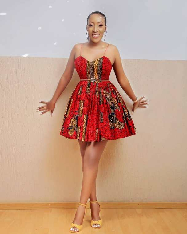 Short Gown Ankara Styles 25 Pictures – Short Gown Ankara Styles for Teenagers