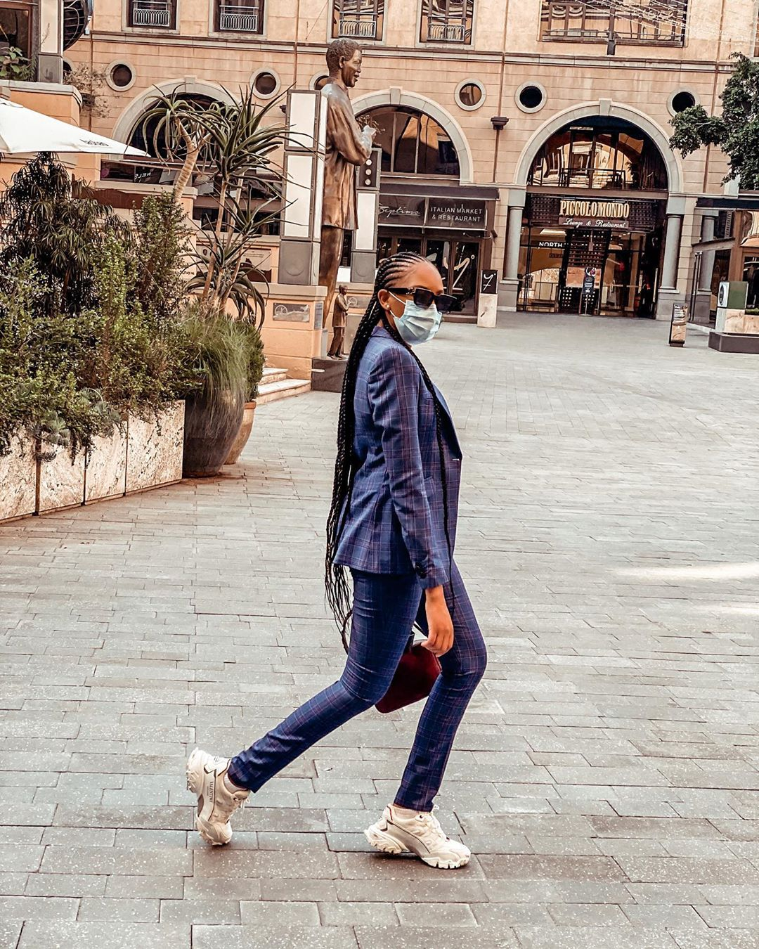 Checkout the Lockdown Style of SA Celebrities and Influencers
