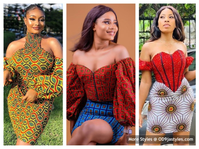 Short Gown Ankara Styles for Teenagers