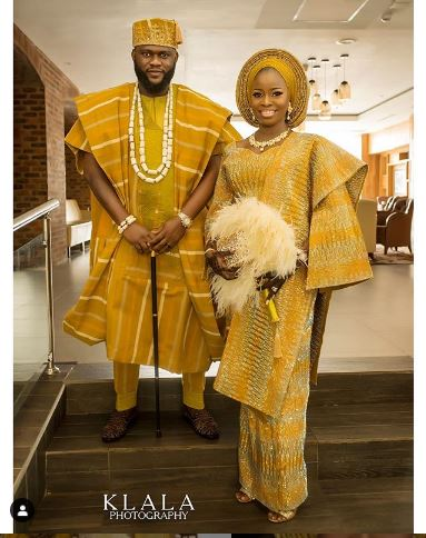 African wedding clothing