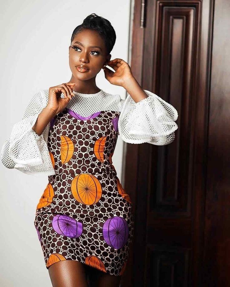 beautiful african woman in ankara gown - 3 Tips on How to Match Your Hairstyle With Your Outfit