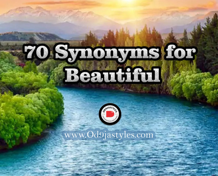 Synonyms for Beautiful