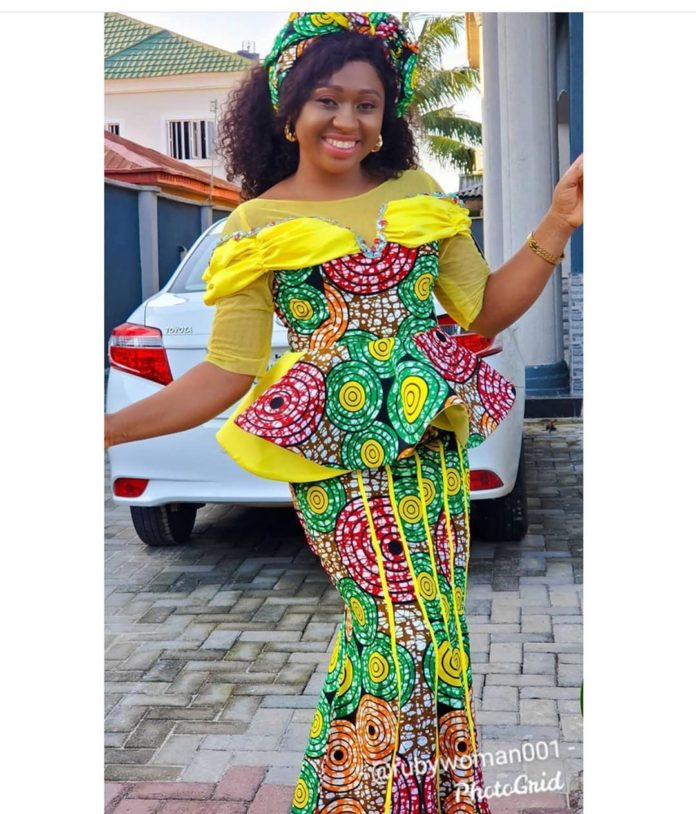 African Ankara Styles For African Woman