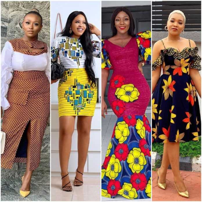 Stylish Ankara Gowns For Women - Fashion And Styles 2020