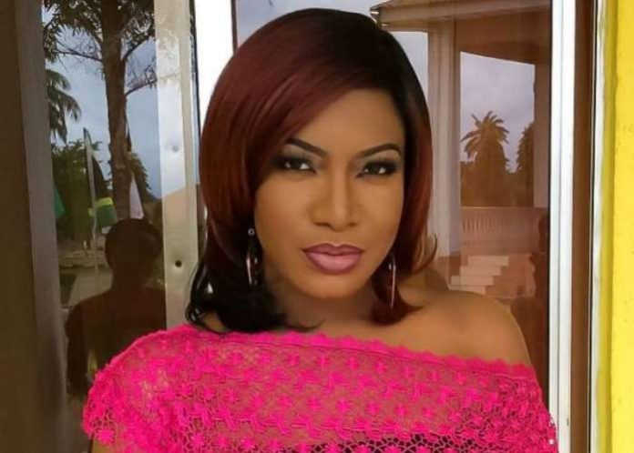 Popular Nollywood actress, Chika Ike, has finally reacted to the rumours making the rounds that she is dating Ned Nwoko, husband of fellow actress, Regina Daniels.