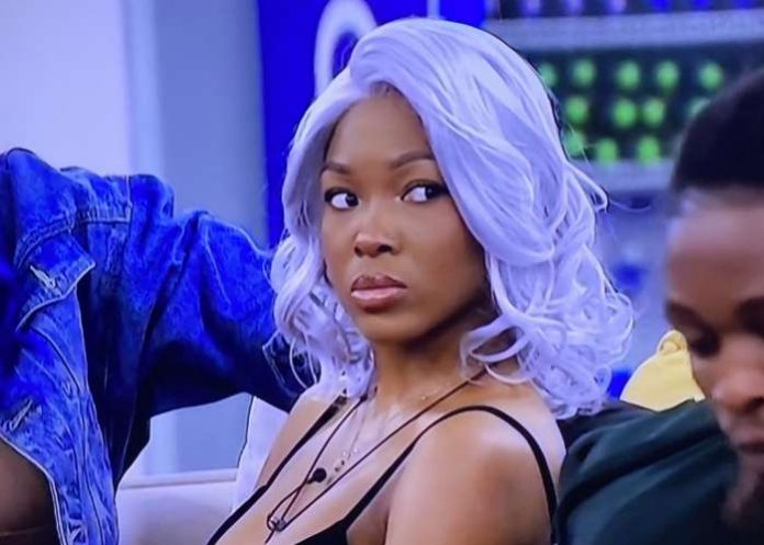 Big Brother Naija Lockdown housemate Vee has disclosed why she asked Laycon to stop talking to his crush, Erica.