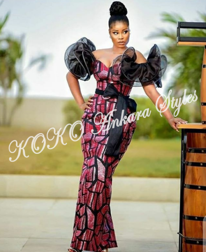 Serve Royal Glam In Jaw Dropping Ankara Styles
