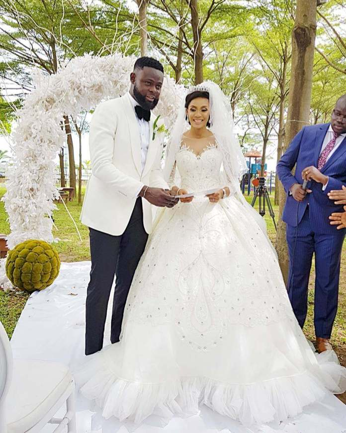 Yomi Casual and Wife Grace Makun