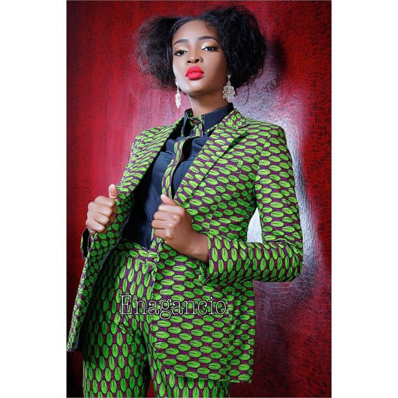 Latest ankara suit for ladies