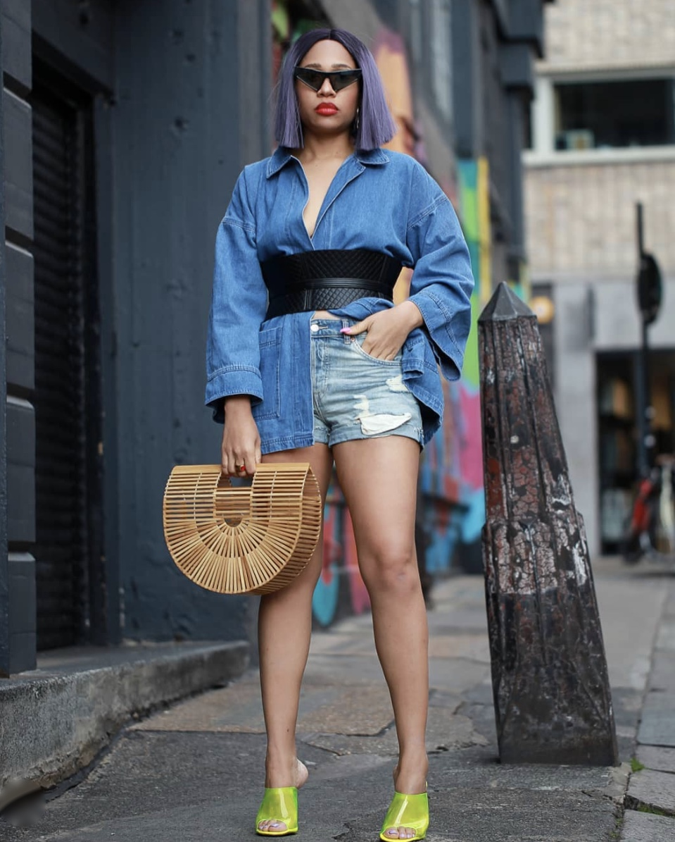 denim on denim fashion obi belt trend stylerave