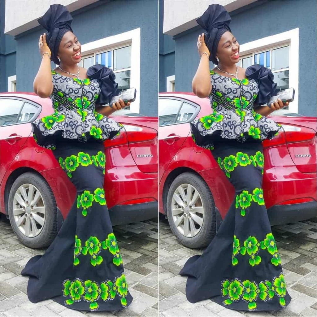 13 PICTURES Classy & Posh Ankara Styles For Wedding, Church & Engagement