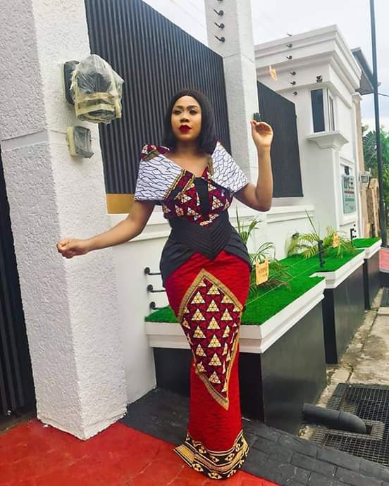 16 PHOTOS Trendy Ankara Styles For Women - African Dress Inspirations