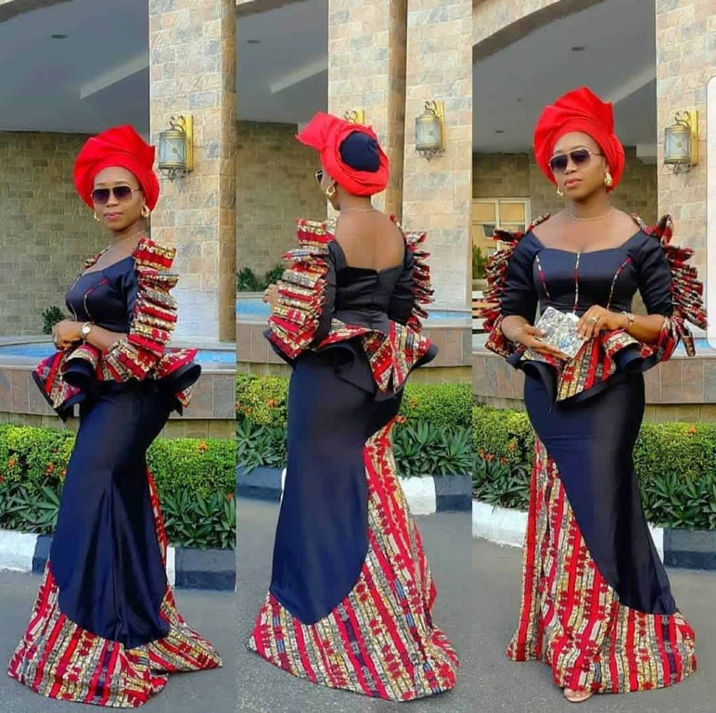 17 PICTURES: Unique Ankara Styles For Wedding - Asoebi Fashion Styles For Church