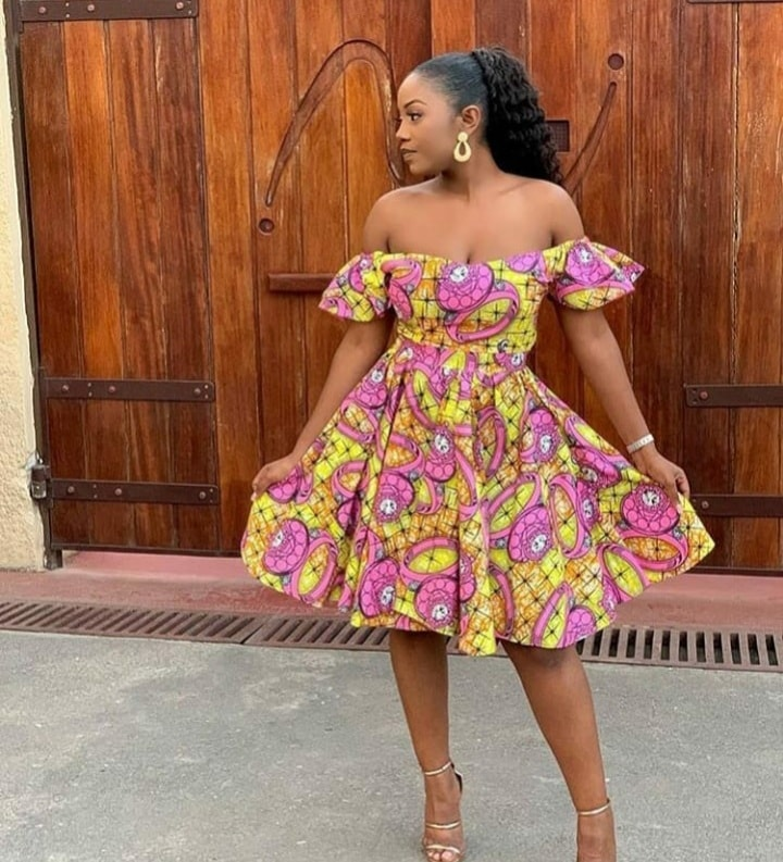 20 PHOTOS Ankara Fashion Styles - African Wears For Lovely Beautiful Ladies