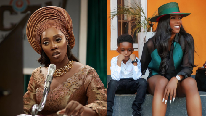 'I would love to have another child either by surrogacy or Adoption' - Tiwa Savage Reveals