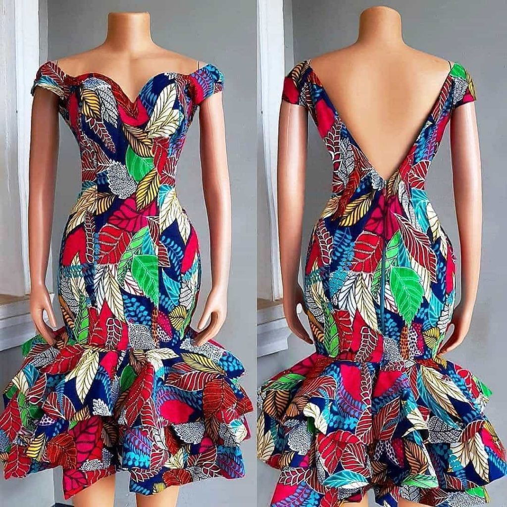PHOTOS Unique Ankara Dress Styles For Simple and Amazing Ladies