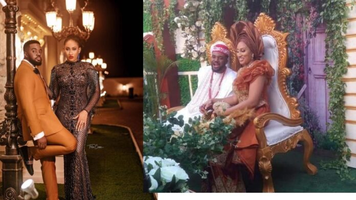 Actor William Uchemba ties the knot traditionally with his Fiance(video)